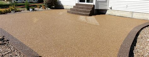epoxy and pebble patio floor outdoor design epoxy