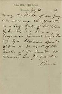 lincoln abraham autograph le With abraham lincoln letter for sale