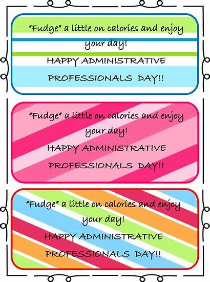 Administrative Assistants Assistant Gifts Tags Gift Fudge
