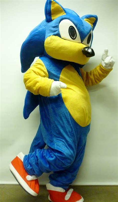 Sonic Hedgehog Mascot Costumes