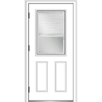 blinds   glass    steel doors front