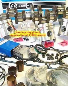 Engine Rebuild Kits - Full Engine Kit For 3000 Diesel 3 Cylinder Ford Tractors - Ekm28