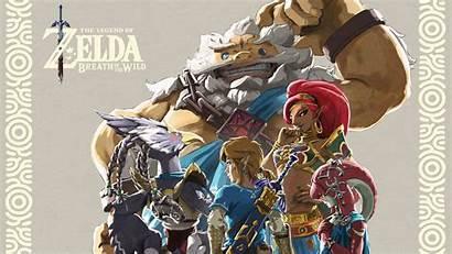 Breath Wild Zelda 4k Champions Ballad Dlc