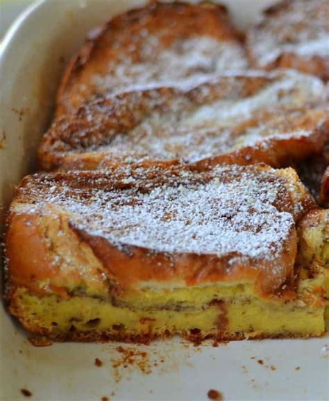 Easy Overnight French Toast Casserole Small Town Woman