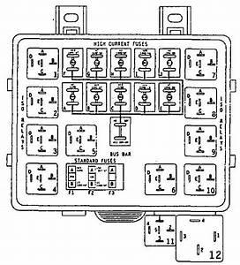 Eagle Vision  1996  - Fuse Box Diagram