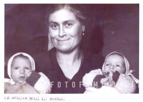 foto ricordo gemelli diversi 1943 ricordo della nascita di franco e franca rocchetti