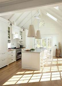 Vaulted ceilings white or wood