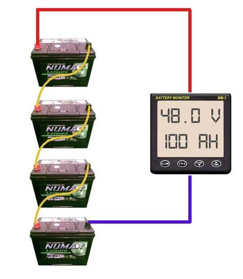 Series Battery Bank Wiring Diagram Must Solar