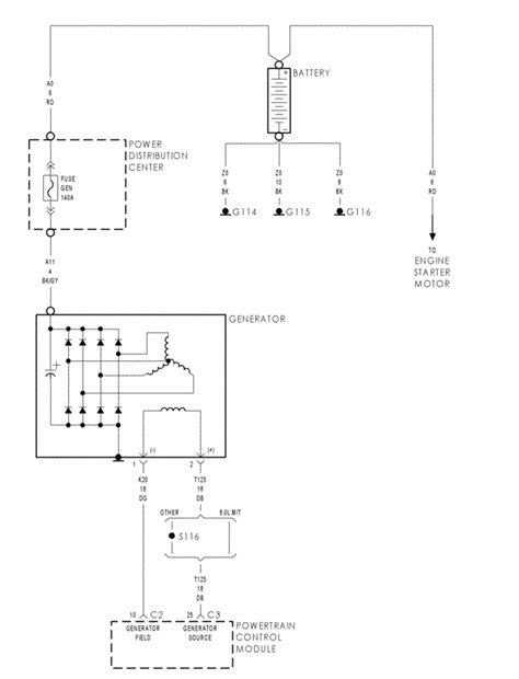 Need Charging System Wiring Diagram Dodge