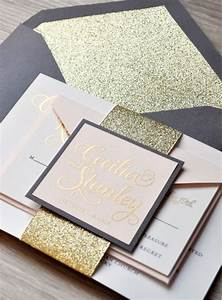 diy archives weddingmix blog With diy wedding invitations with glitter