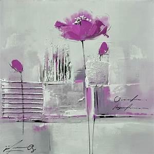 Tableau Rose Et Gris : les 25 meilleures id es concernant peintre des fleurs en acrylique sur pinterest fleurs ~ Teatrodelosmanantiales.com Idées de Décoration