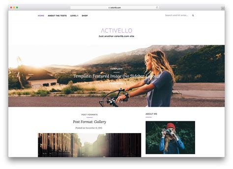 Blog In From Oter Template by 20 Beautiful And Free Wedding Themes 2018