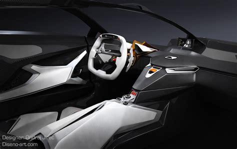 Car Design Concepts : Design Student Creates Jet Fighter-inspired Lamborghini