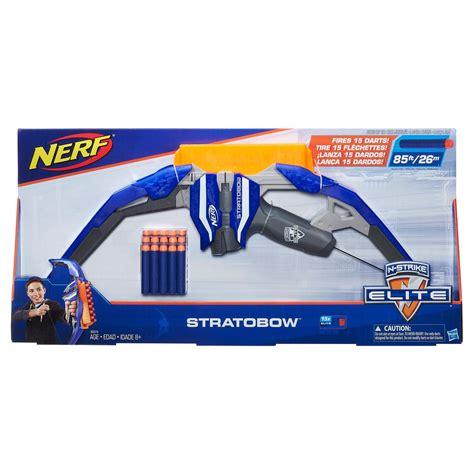 nerf n strike stratobow bow toys