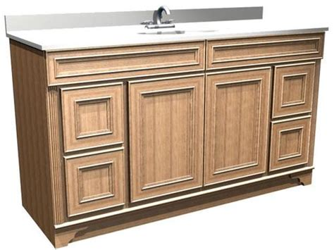 Briarwood Bathroom Cabinets Menards by Briarwood 60 Quot W X 21 Quot D X 31 Quot H Highland Vanity Sink
