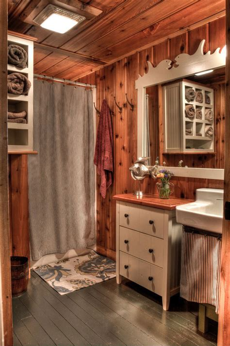 arredamenti rustici foto di 25 bagni rustici per idee di arredo con questo