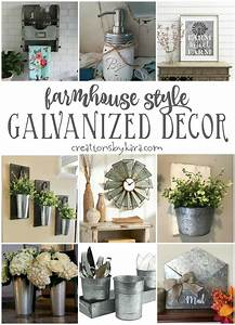 Farmhouse Style Galvanized Decor - Creations by Kara