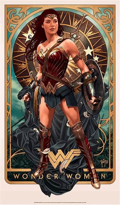 Wonder Woman Movie Ruiz Poster Burgos Wonderwoman
