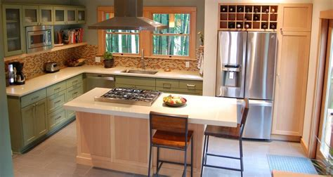 how to decorate your kitchen island where would you place the fridge in your home