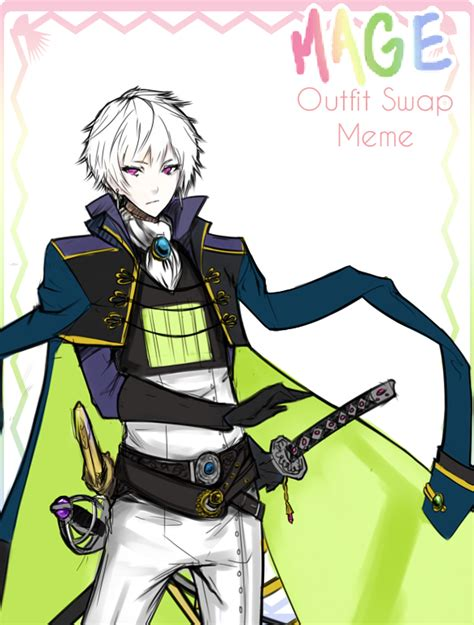 MAGE outfit swap Claudeus - GH by minevi on DeviantArt