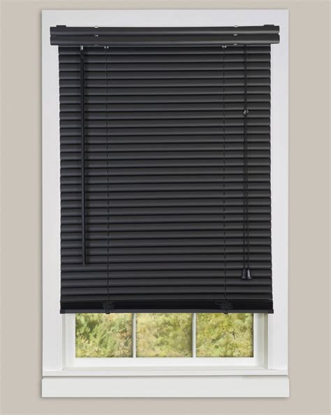 Window Blind Store by Window Blinds Mini Blinds 1 Quot Slats Black Venetian Vinyl