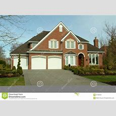 Brick Home Exterior Stock Photo Image Of Architecture