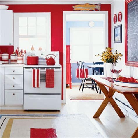 Red Kitchen Decorating Ideas  Home Interior Design Ideas