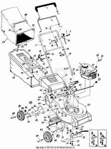 Mtd Mtd Mdl 111 51158 Parts Diagram For Parts