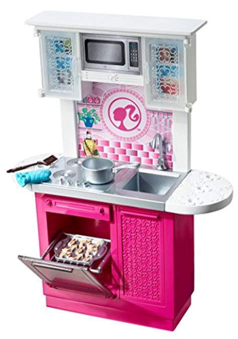 Barbie Doll And Kitchen Furniture Set  Import It All