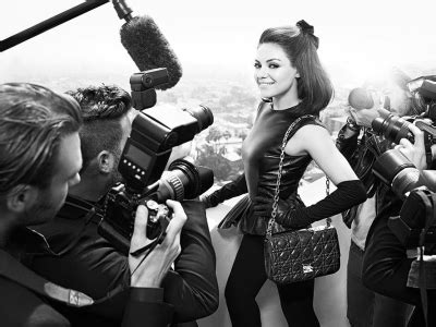 mila kunis   dior handbags fall winter   mario sorrenti