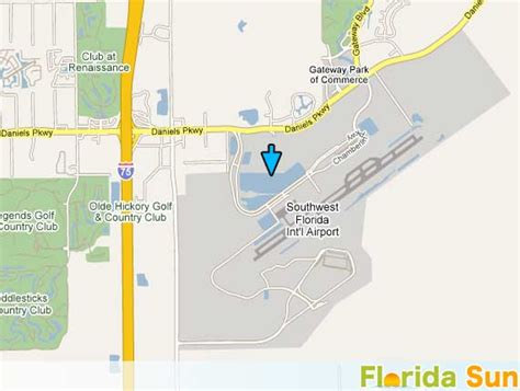 Fort Myers Airport Rsw Rental Car Map Florida Sun .html