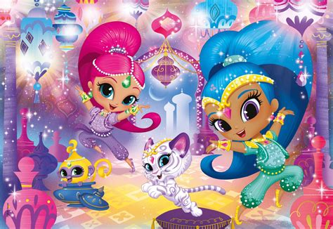 shimmer and shine l pzl 60 shimmer and shine clementoni