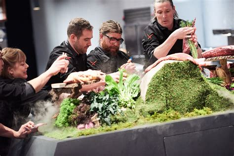 tv cuisine iron chefs dominate on food this