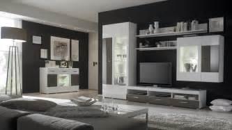 ebay wohnzimmer wohnwand mit 2er set highboard weiss hochglanz cacao hochglanz woody 16 00277 ebay