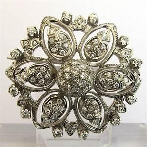 bijoux 1960 broche or blanc diamants 132 bijoux With bijoux anciens