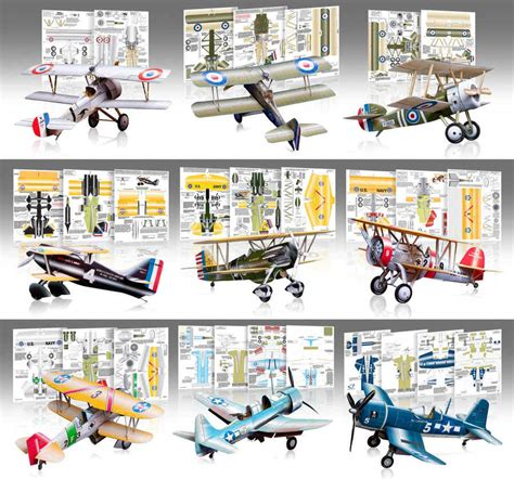aviones y barcos de papel para armar gratis aviones de papel para armar de la primera guerra mundial