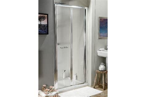 atlantic shower door atlantic 800mm bifold shower door trade bathrooms budget