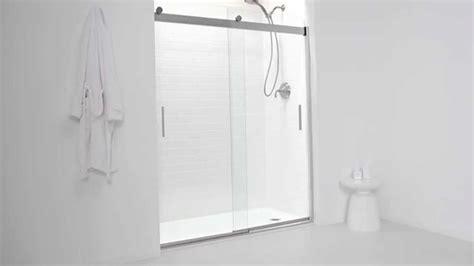 kohler levity sliding shower door kohler levity shower door 8820