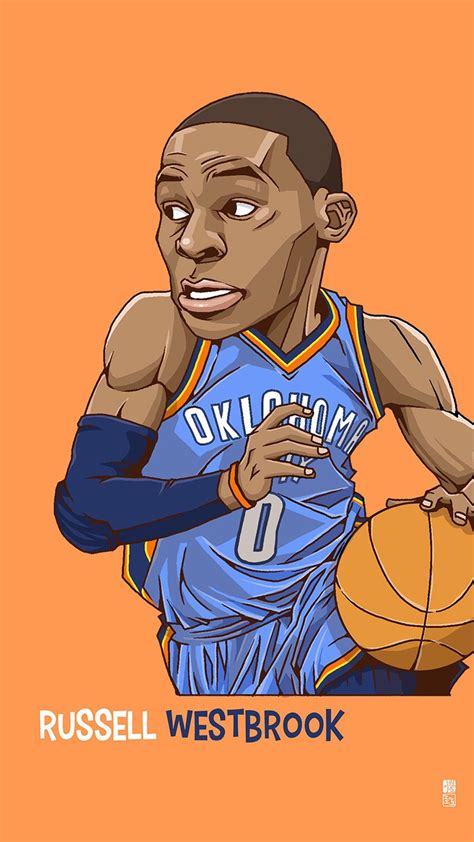 Animated Basketball Wallpapers - t 233 l 233 charger westbrook 1080 x 1920 wallpapers