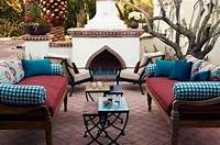 trending patio table decor ideas Romantic Mediterranean Trends for Decorating Home Interiors in Mediterranean Styles
