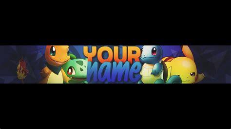 descargar youtube banner template youtube minecraft pokemon template www miifotos