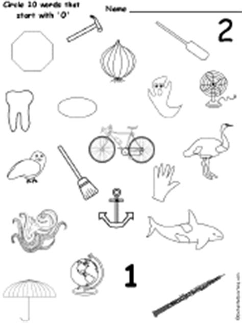 letter o alphabet activities at enchantedlearning 756 | otiny