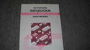 2004 Toyota Sequoia Electrical Wiring Diagram Service Shop