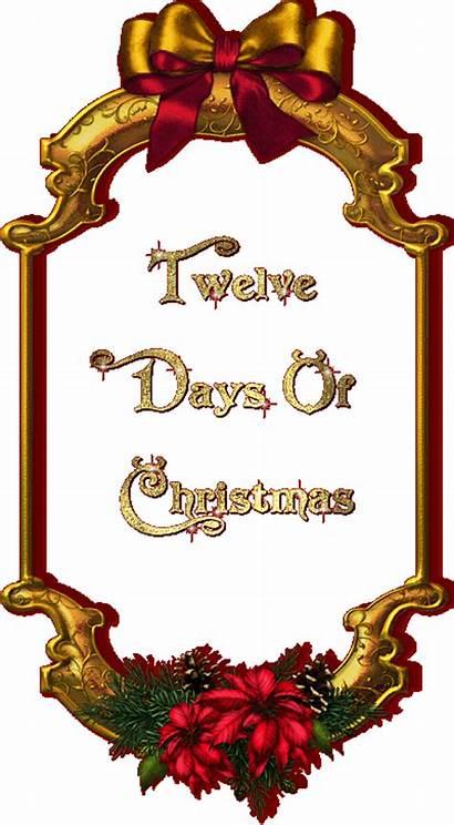 Days Christmas Twelve Contest Blogoversary 12days