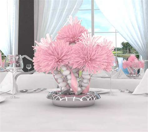 baby girl shower centerpieces baby shower table decorations party favors ideas