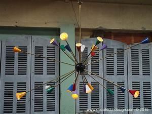 Grand Lustre Design : lustre spoutnik design italien tres grand modele ~ Melissatoandfro.com Idées de Décoration