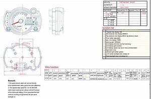 Wiring Diagram Speedometer Koso Rx2n Replica