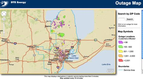 westar power outage map world map