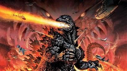 Godzilla Poster Desktop Wallpapers Background Backgrounds Px