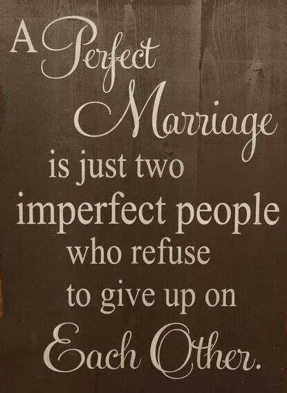 perfect marriage    people  refuse  give